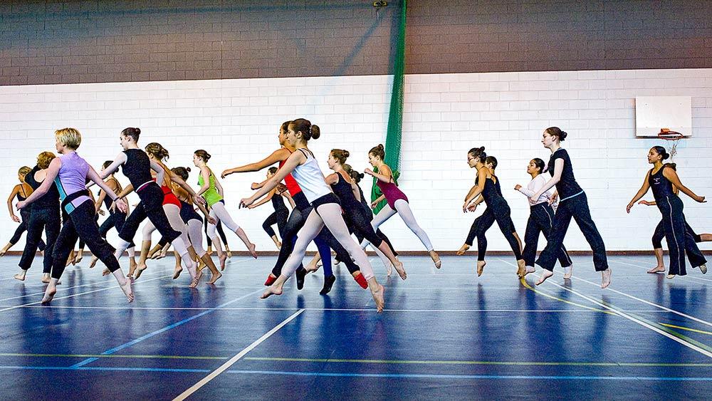 dancers at workshop