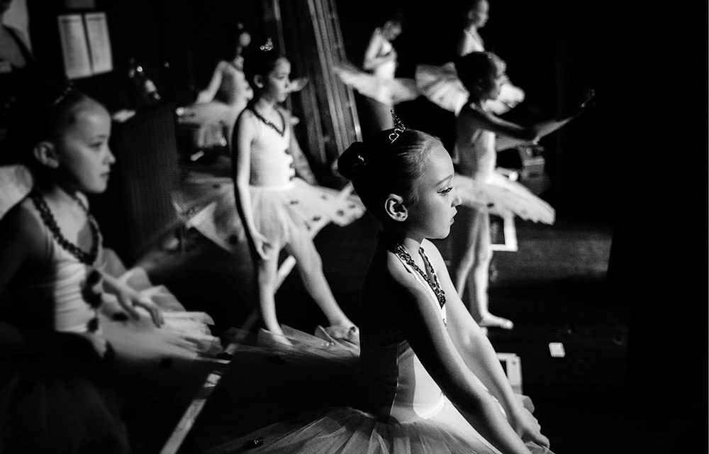 backstage dance photo