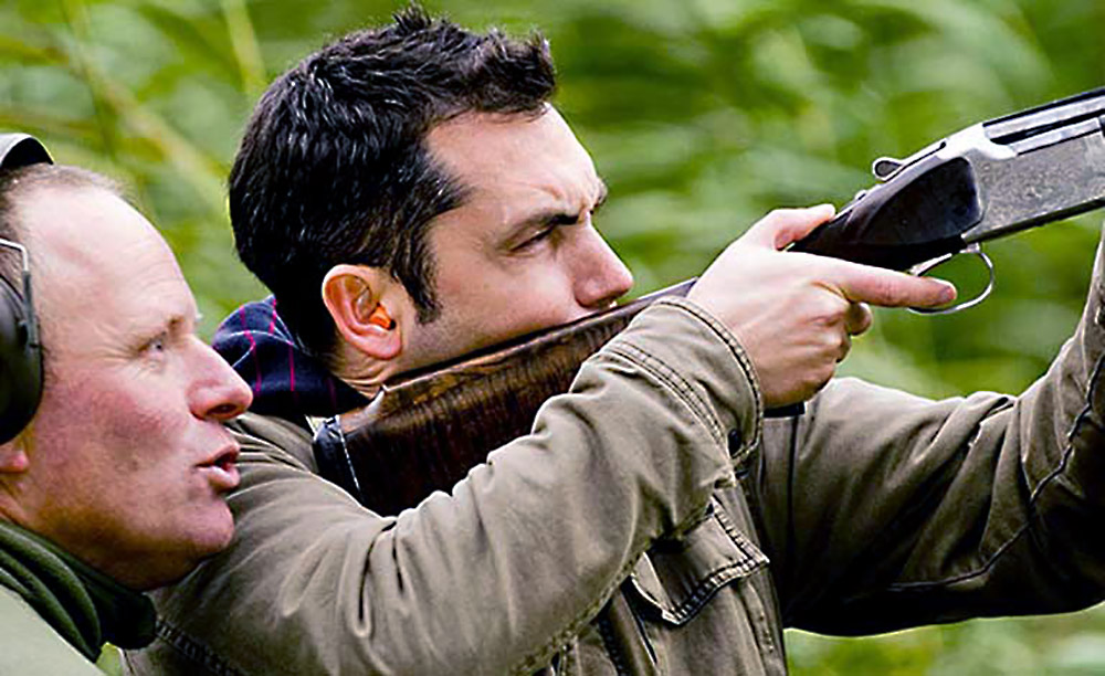 clay pigeon shooting field sports event